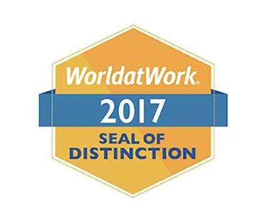 2017 WorldatWork Seal of Distinction