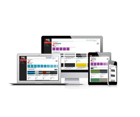 AkzoNobel's MIXIT App