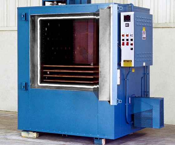 Greve No. 887 gas-fired cabinet oven.