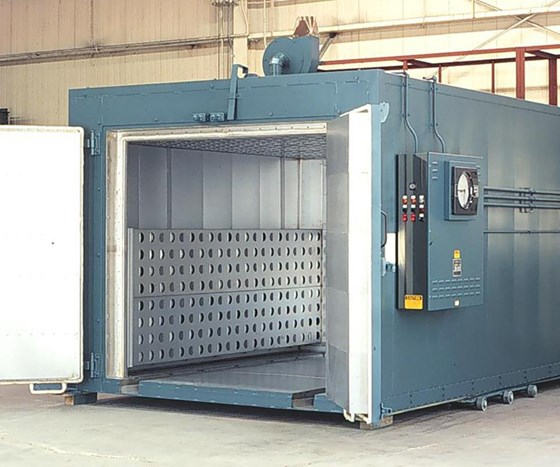 Grieve 839 electrically heated batch oven.