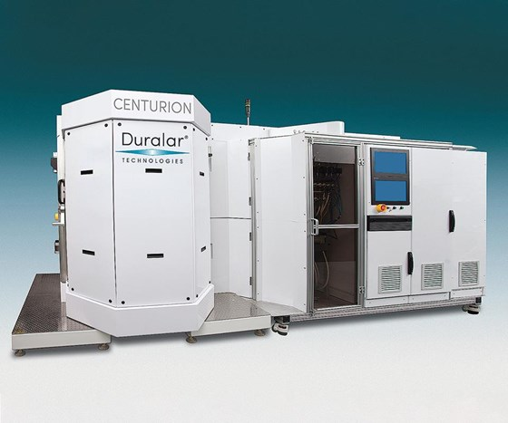 Duralar Technologies Centurion deposition system.