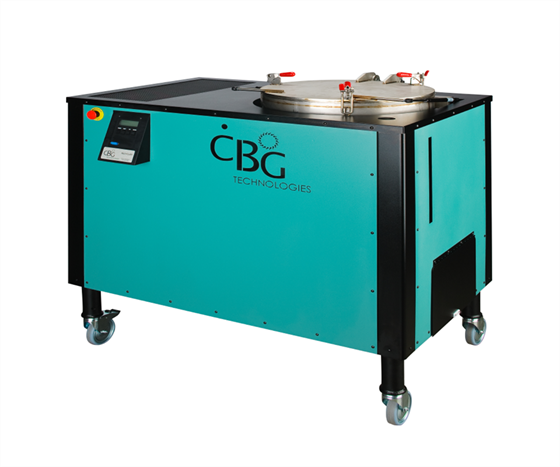 CBG Biotech PW series solvent recycling system.
