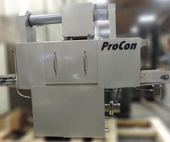 International Thermal Systems (ITS) ProCon line of standard conveyor-type cleaning systems.