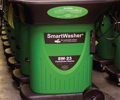 Bioremediating Parts Washer Offers Alternative To Solvent