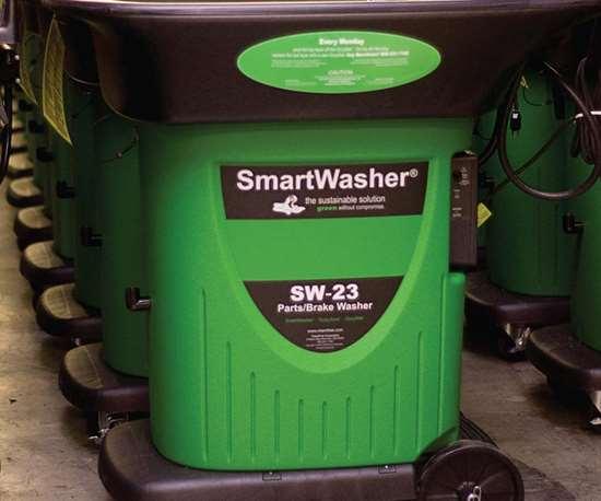 Chemfree SmartWasher, bioremediating parts washer.