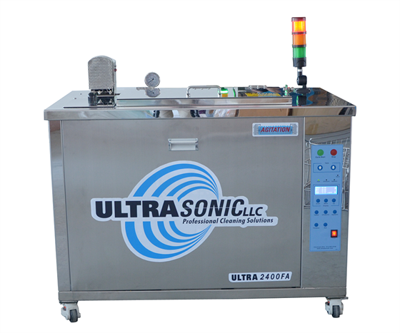 UltraSonic's 2400FA 30-gallon, medium-capacity ultrasonic cleaner.