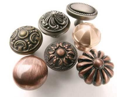 Electrocoated knobs