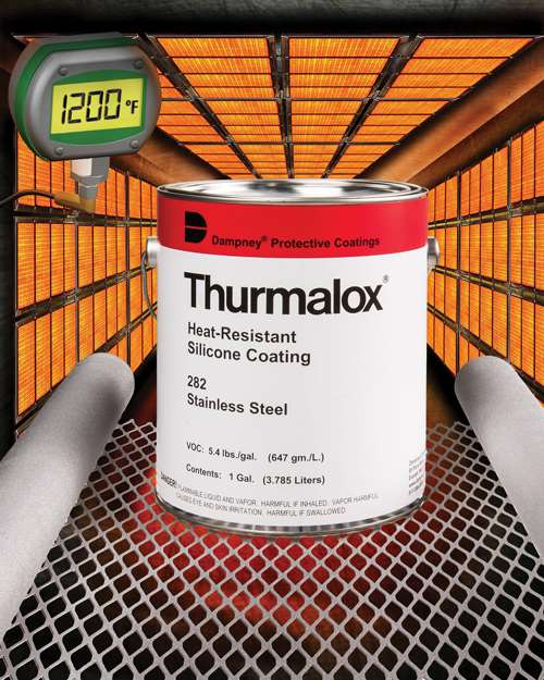 Thurmalox 282 stainless steel paint