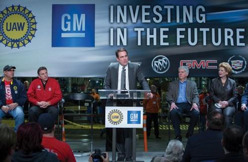 General Motors Executive V.P. and North America President Mark Reuss