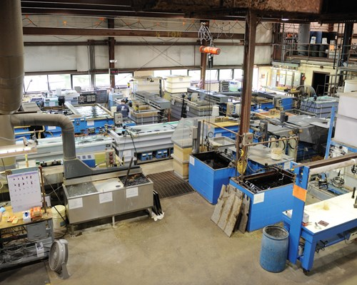 Poly-Plating in Chicopee, Mass.