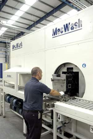 Maxi cleaning system