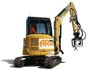 ARM waterjet