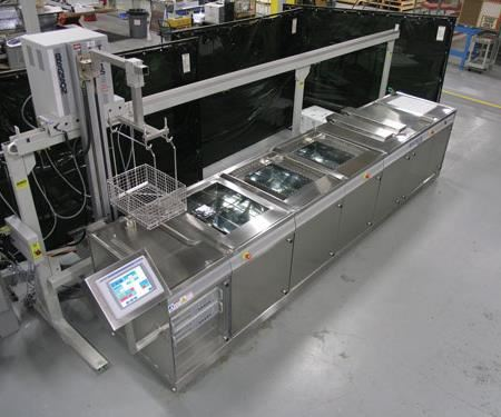 A fully-automated aqueous medical device cleaning system must be able to manipulate workloads to ensure parts fill/drain properly. Since evaporative drying is employed in this equipment configuration, special attention must be paid to the draining aspect.