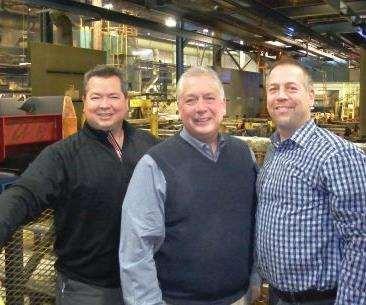 Matt, Rick and Tim Delawder own SWD Inc. in Addison, Illinois.