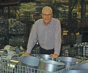President Jeff Grube manages a team of 135 employees.