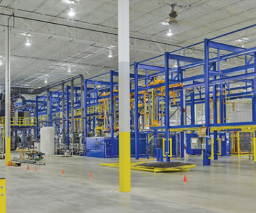Roy Metal Finishing's new facility is expected to be complete this summer and will provide an additional 85,000 square feet.