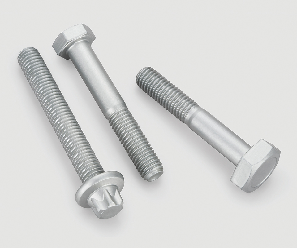 Offering a uniform surface even after mechanical stress, Zintek One is well-suited for bolts, screws, springs and parts used in construction, automotive and heavy industry applications.