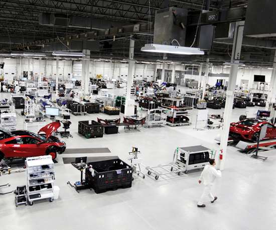 Honda builds ecoat system for Acura NSX Performance Manufacturing Center.