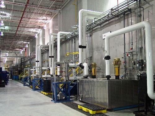 KMI's custom-designed finishing systems
