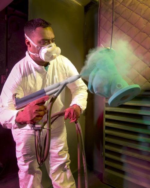 Applied Plastics Teflon powder coating