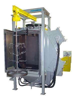 Proceco's slurry blasting parts cleaning technology