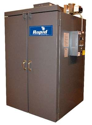 Rapid Engineering's small, electric batch ovens