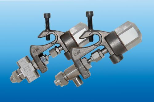 BEX universal-mount spray nozzles