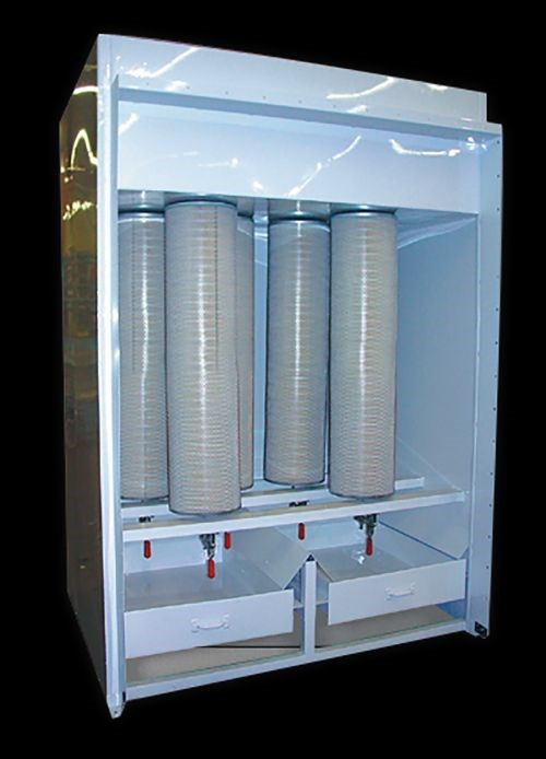 Col Met Spray Booths Cartridge Powder Collector Products