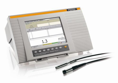 Fischer Fischerscope MMS PC2 universal coating thickness measurement system