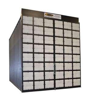 Fostoria modular powder spray booths