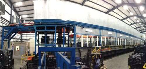 Therma-Tron-X SlideRail Square Tranfer (SST) material handling system
