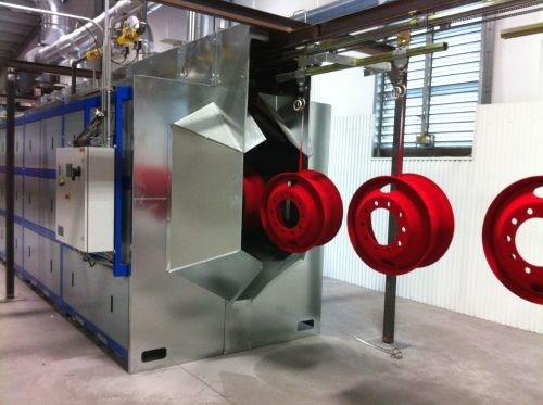 Vulcan Catalytic Systems powder coating oven