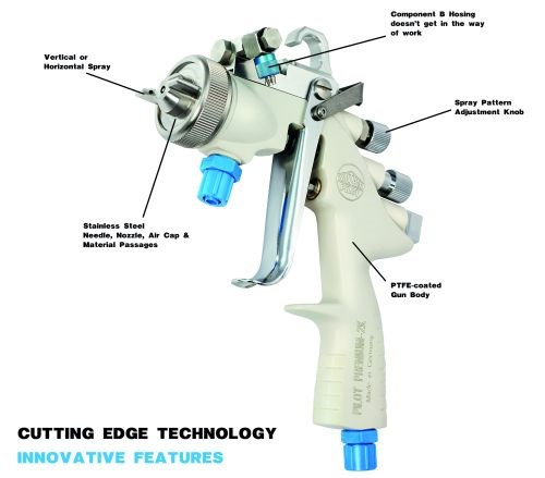 Spray Gun Can Use Any Two-Component, Water-Based Adhesive ...