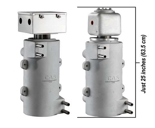 CAS, circulation heater