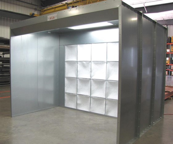Catalytic Combustion Paint Booth Product Line