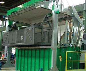 Kolene Fluidized Bed Cleaning Equipment