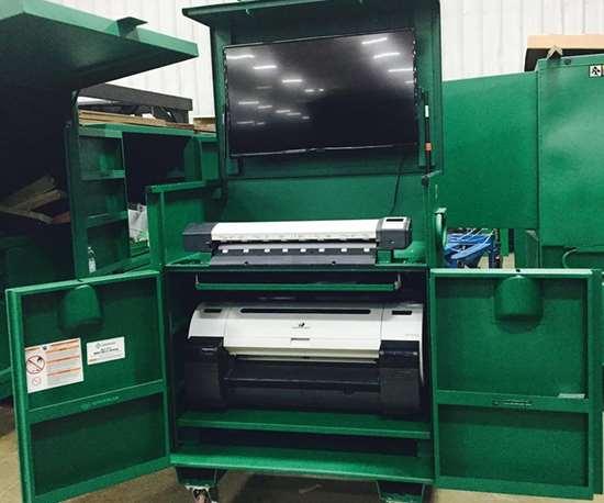 PlotterStore Mobile Technology Station
