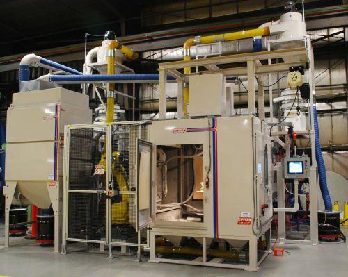 Robotic Lance Blasting System, Guyson Corp.