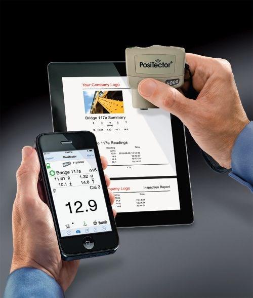 PosiTector Application, DeFelsko Corp.
