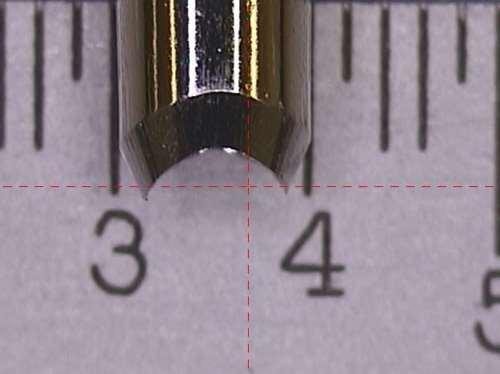 needle width