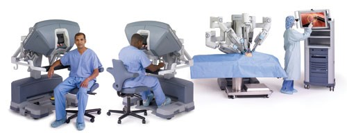 da Vinci robotic system