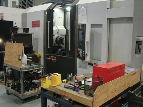 Mori Seiki NT at Accutech