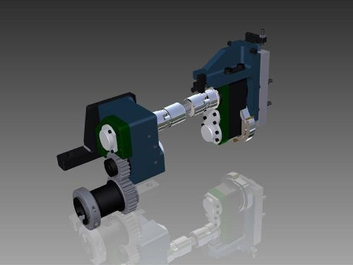 BME Davenport screw machine attachment