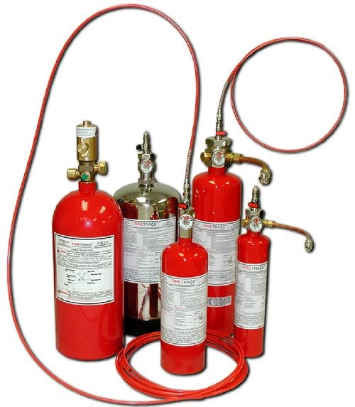 Firetrace automatic fire detection and suppression system