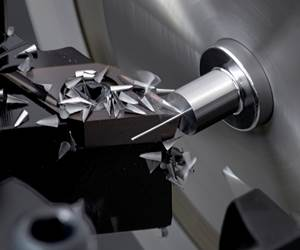 Lathes Use Low-Frequency Vibration to Avoid Chip Problems