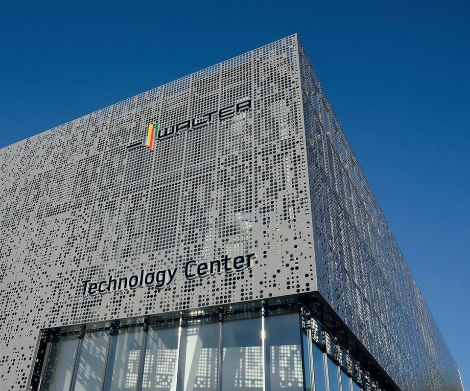 Walter's new Technology Center at its Tübingen, Germany, worldwide headquarters
