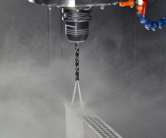 Solid Carbide Coolant Through