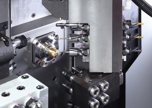 Optimizing B Axis on Gang Tool-Based Swiss Machines