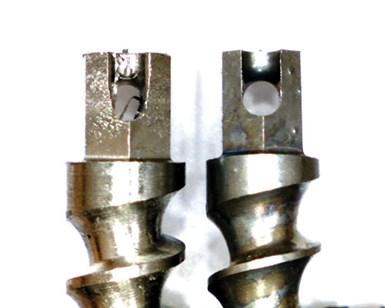 threads on bone screws