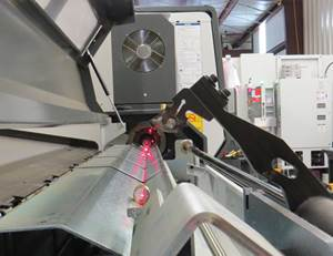 Laser Device Helps to Align Bar Feeders